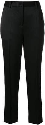 Blumarine cropped straight-leg trousers