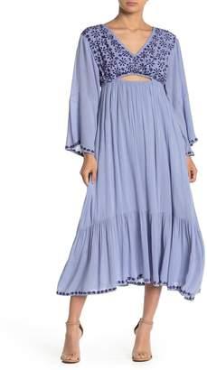 Raga Marrakesh Open Back Midi Dress