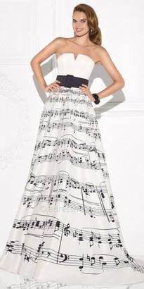 Tarik Ediz Acort Evening Dress $824 thestylecure.com