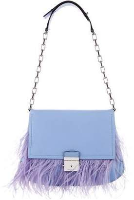 Michael Kors Feather-Accented Shoulder Bag