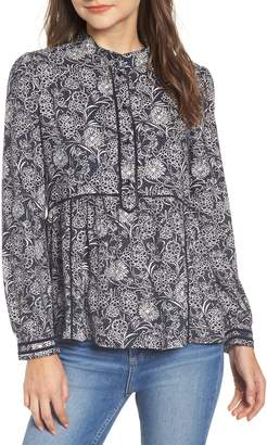 Hinge Lace Popover Shirt