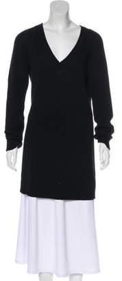 Dries Van Noten Wool & Camel-Blend Sweater Dress