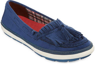 Yuu Womens Vermont Slip-On Shoes Closed Toe