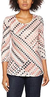 Gerry Weber Women's Dot Print T-Shirt,(Manufacturer Size:38)