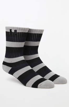 The Hundreds Zyme Stripe Crew Socks