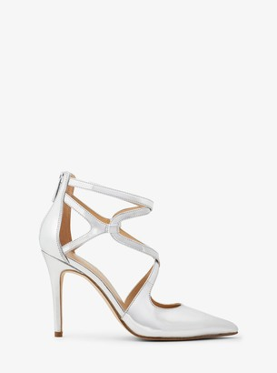 MICHAEL Michael Kors Catia Metallic Leather Pump
