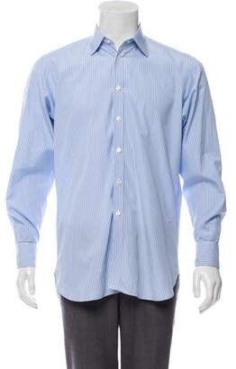 Turnbull & Asser Striped French Cuff Shirt