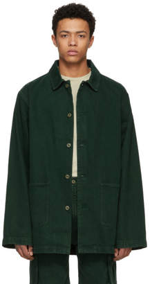 Acne Studios Bla Konst Green Stealh Coat