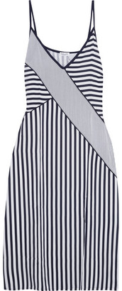 Splendid - Striped Voile Dress - Navy $170 thestylecure.com