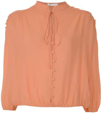 Nk Romain Drop Florence silk blouse