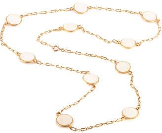 Van Cleef & Arpels Heritage  18K Gemstone 31In Necklace