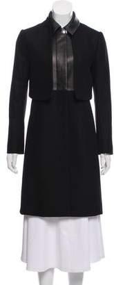 The Row Virgin Wool Layered Coat