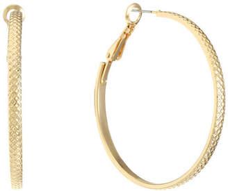 Liz Claiborne 43mm Hoop Earrings