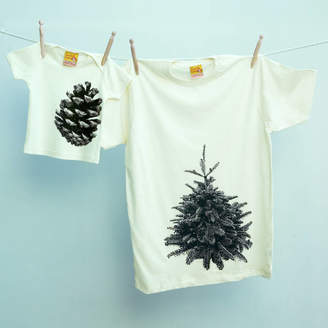 10ec4148 Twisted Twee Father's Day Matching T Shirt Set Pine Tree / Pine Cone