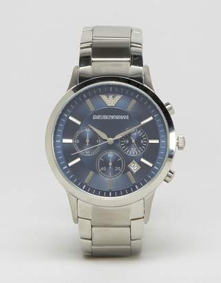 Emporio Armani Ar2448 Watch With Stainless Steel Strap
