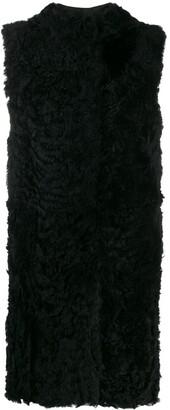 Drome fur waistcoat