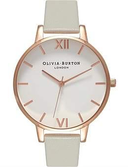 Olivia Burton White Dial Big Dial Watch
