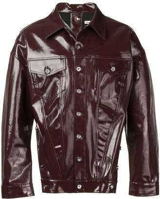 Diesel Red Tag varnished button jacket