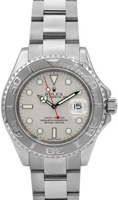 Rolex Pre-Owned Men's 40mm Yacht-Master Bracelet Watch w/ Platinum Bezel