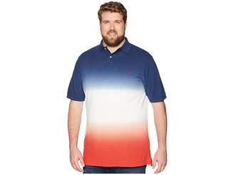 Polo Ralph Lauren Big Tall Dip Dye Pique Polo
