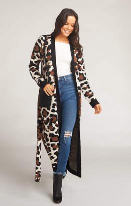 Show Me Your Mumu Behati Belted Cardigan ~ Wild Cheetah Knit