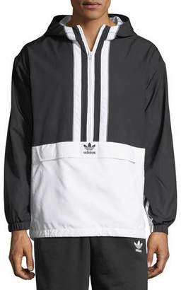 adidas Authorized Two-Tone Anorak Jacket