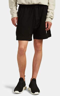 Rick Owens Men's Logo-Print Cotton Boxer Shorts - Black