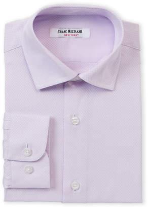 Isaac Mizrahi Boys 8-20) Mini Boxes Pattern Dress Shirt