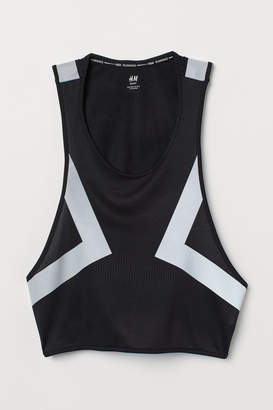 H&M Reflective running gilet - Black