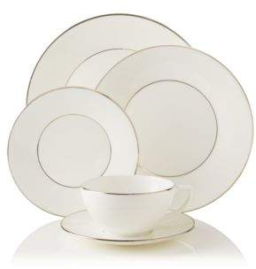 "Jasper Conran Wedgwood at Wedgwood ""Platinum"" 5 Piece Place Setting"