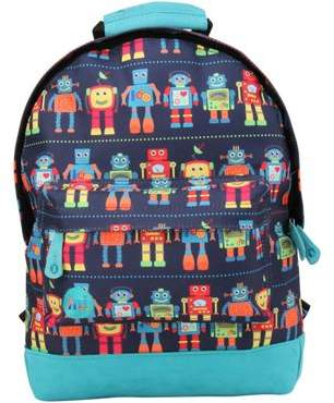 Mi-Pac Toddler Mi Pac Mini Backpack - Colourful Robots, Toddler Backpack, Mini Backpacks For Kids