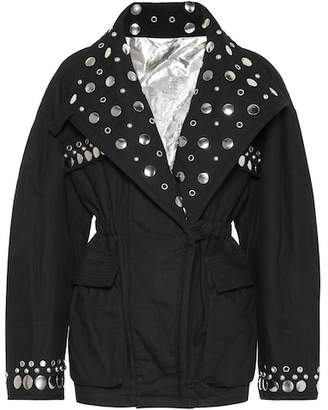 Isabel Marant Emmetis reversible cotton jacket