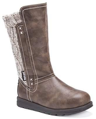 Muk Luks Women's Stacy Boots-Brown Fashion