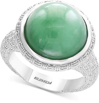 Effy Verde by Jade Ring in Sterling Silver