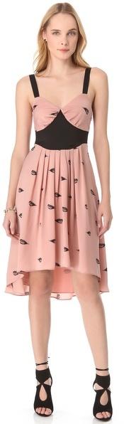 Viva Vena Viva vena! by vena cava Pleated Print Dress