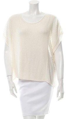 Brochu Walker Knit Cap Sleeve Top w/ Tags $125 thestylecure.com