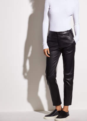 Vince Coin Pocket Stretch-Leather Pant