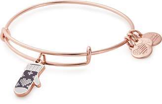 Alex and Ani Charity by Design Mitten Adjustable Wire Bangle