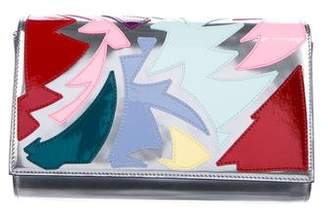 Christian Louboutin 2017 Paloma Patchwork Clutch
