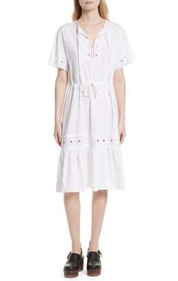 See by Chloe Cotton Eyelet Dress