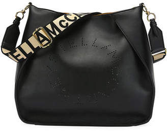 Stella McCartney Perforated Logo Alter Napa Crossbody Bag