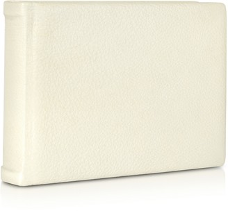 Pineider Small Ivory Leather Photo Album