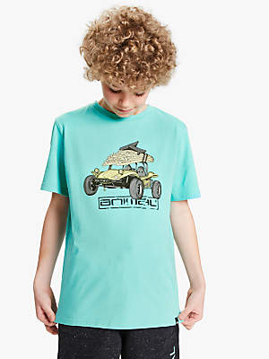 Animal Boys' Graphic T-Shirt, Pacific Blue