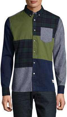 Penfield Crowley Colourblock Sport Shirt