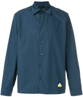 Prada two-tone boxy shirt