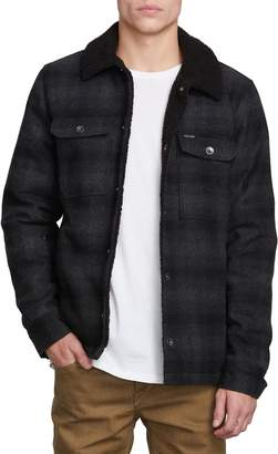 Volcom Keaton Jacket with Faux Shearling Trim