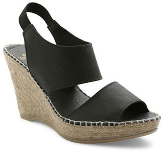Andre Assous Reese Espadrilles Wedge Sandals $179 thestylecure.com