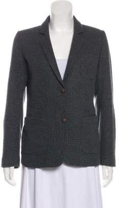 Golden Goose Wool Plaid Blazer