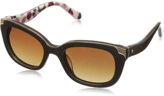 Kate Spade new york Women's Danellaps Polarized Rectangular Sunglasses