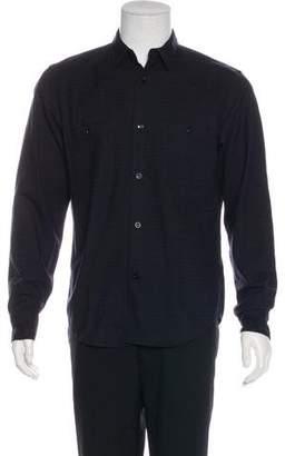 Rag & Bone Wool-Blend Button-Up Shirt